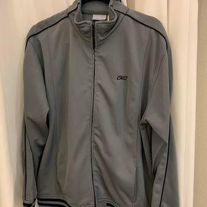 Vintage Reebok full zip jacket windbreaker Large